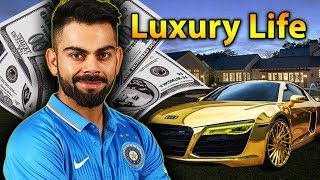 Virat Kohli Luxury Lifestyle | Bio, Family, Net worth, Earning, House, Cars