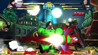 Marvel vs Capcom 3: Fate of Two Worlds (Viewtiful Joe, Amaterasu, Tron Bonne Pt. 1/2)