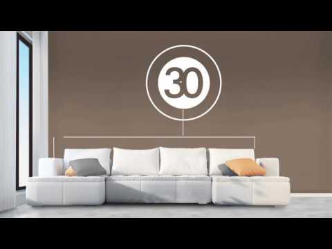 La sencilla regla 60/30/10 de decoración que te hará un experto en segundos con BEHR!