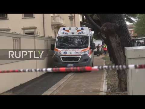 Italy: Clean-up operation underway in Livorno after flood kills six