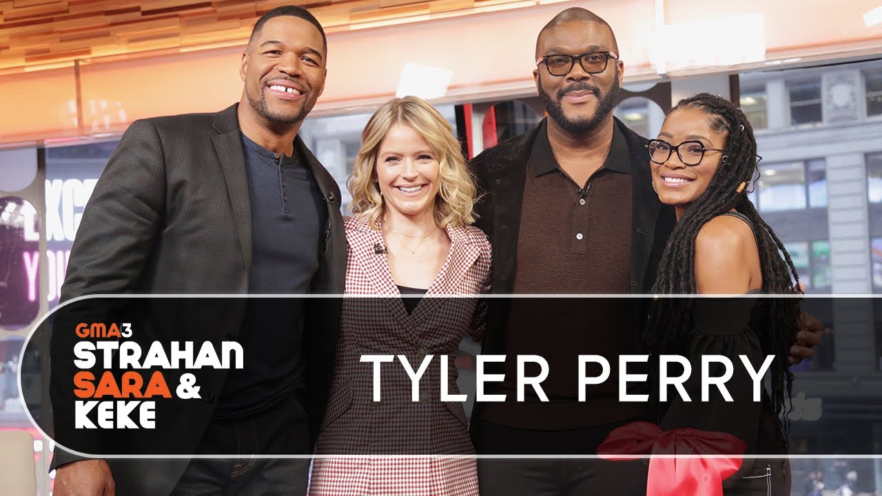 Tyler Perry talks Madea, writers' room controversy and his new studio