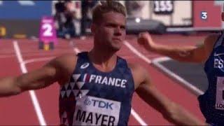 Mondiaux d'athlétisme : Kevin Mayer explose son record sur 100m !