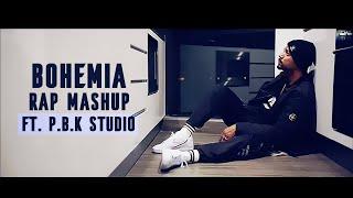 Bohemia Rap Remix Mashup ft. P.B.K Studio Top 5 Best Rap Song Of Bohemia