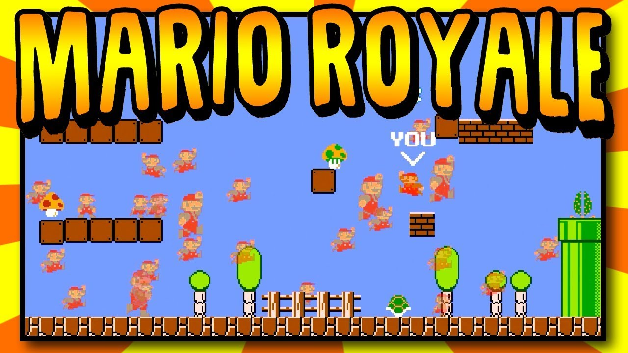 Mario Royale is an Unofficial Mod that Brings 75-Player