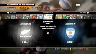 Rugby Challenge 2 on PC - First Look and Future Decisions!