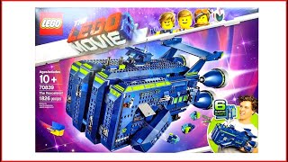 LEGO MOVIE 2 70839 The Rexcelsior! Construction Toy - UNBOXING