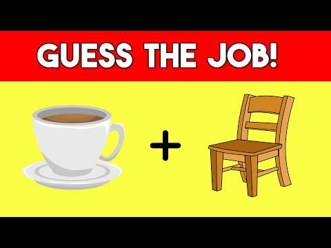 Can You Guess The Job / Profession From The Emojis? | Emoji Guess Game
