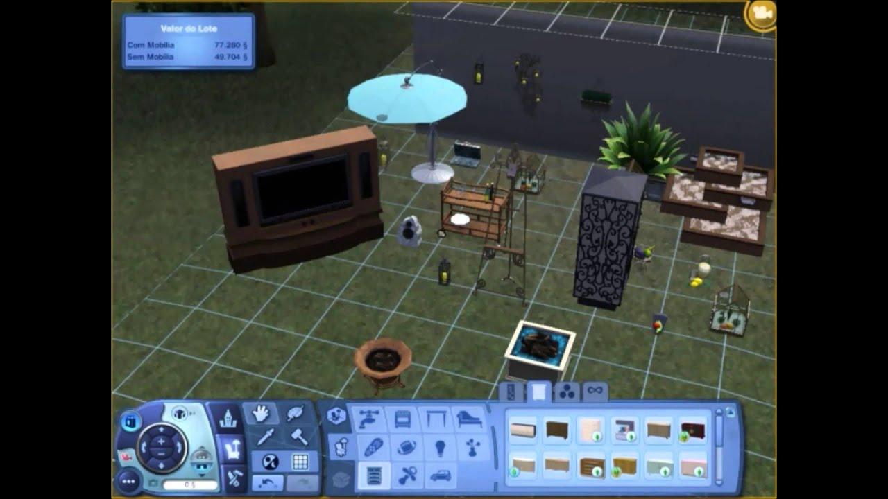 Sims 3 Outdoor Living Stuff Item Showcase