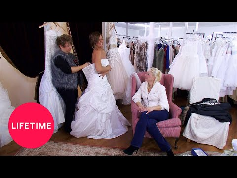 Dance Moms: Kelly Tries On A Wedding Dress (Season 2 Flashback) | Lifetime