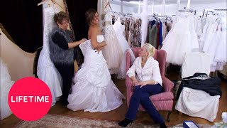 Dance Moms: Kelly Tries On A Wedding Dress (Season 2 Flashback) | Lifetime