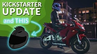Kickstarter Update & Do It With Dan's LightMode Helmet
