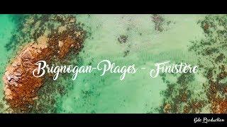 Drone à Brignogan-Plages dans le Finistère