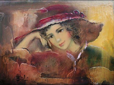 BUDAI LÁSZLÓ (1965) Hungarian painter ✽ FRANCIS GOYA / I Started A Joke