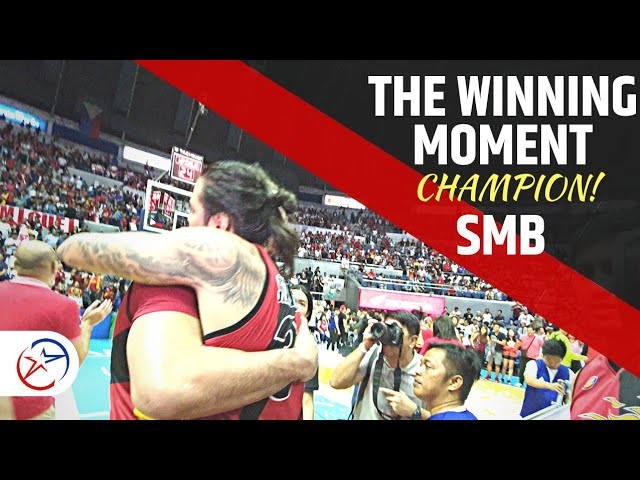 SMB Championship Celebration  Unseen on TV  | 2019 PBA Commissioners Cup the Final Countdown