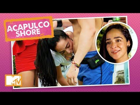 Mane chega chegando e Fernando faz 'body shot' para ela   MTV Acapulco Shore T1 indir