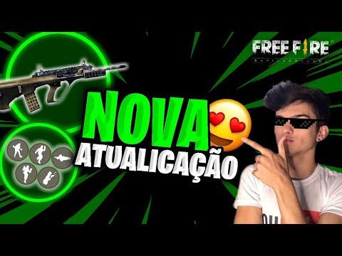 NOVA ARMA E DANCINHA DO FORTNITE CHEGAM AO FREE FIRE!?