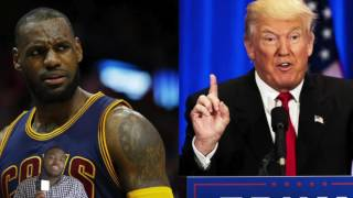 Lebron James Comments On Donald Trump Being President, This Is Why He's One Of The Greatest Athletes