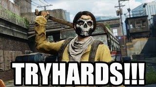 TRYHARDS!!! (The Last of Us: Remastered Multiplayer Gameplay)