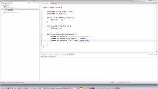 Классы и объекты в Java