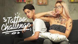 TATTOO CHALLENGE | SparkDise tatoue Gloomy Sarah