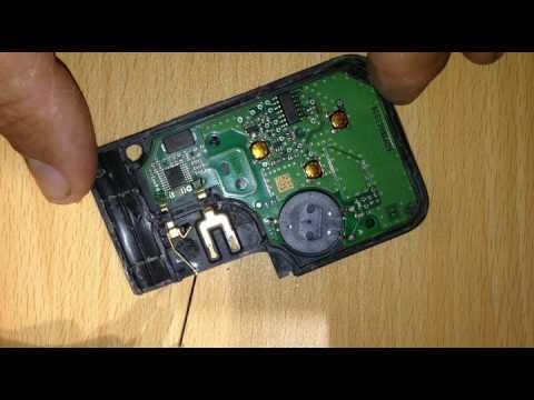 reparation carte scenic 2 Carte ( card) clée key Renault Mégane Scenic transpondeur repair