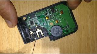 Carte ( card) clée key Renault Mégane Scenic transpondeur repair (coil) HS