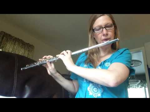 The luckiest on flute cover