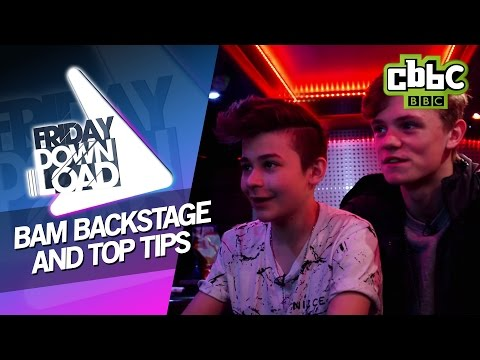 Bars and Melody's tour bus! - Friday Download CBBC