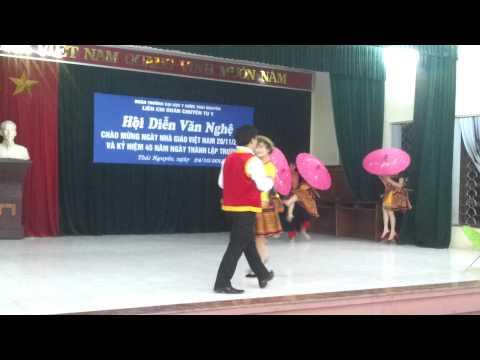 Hội diễn văn nghệ thành lập trường Đại Học Y Dược Thái Nguyên - Gặp nhau giữa rừng mơ