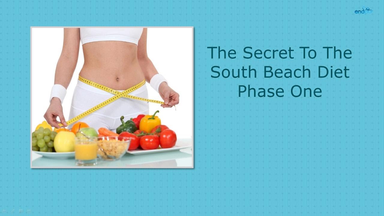 South Beach Diet Phase  No Weight Loss