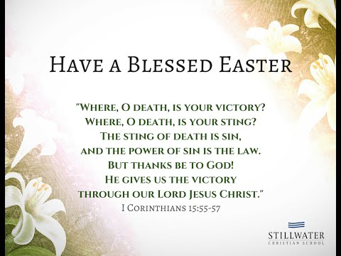 2016 Stillwater Christian School EASTER