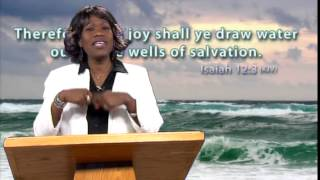 DRAW WATER FROM THE WELLS OF SALVATION