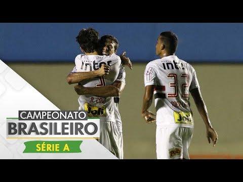 Melhores momentos - Atlético-GO 0 x 1 São Paulo - Campeonato Brasileiro (04/11/2017)