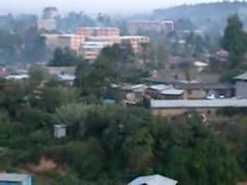 Early Morning Life in Addis Ababa, Ethiopia