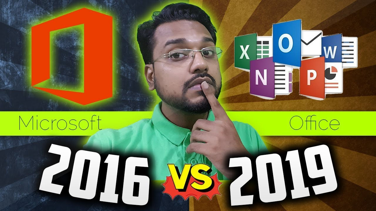 Microsoft Office 2016 @ $31 vs Office 2019 @ $45 Professional Plus