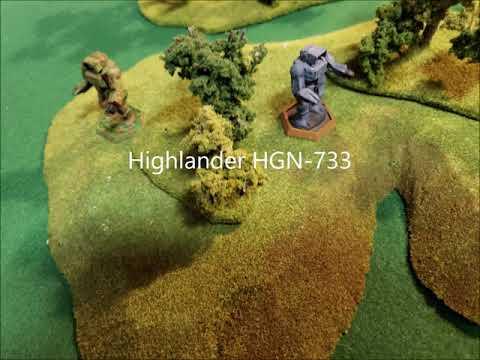 Battletech: Mercenary Commanders Thoughts From The Inner Sphere Highlander HGN-733 Episode 85 |