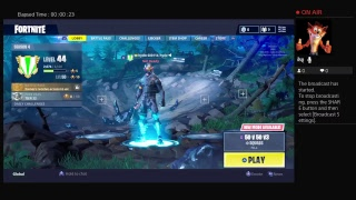 HK GAMES - Live PS4 Broadcast playing fortnite