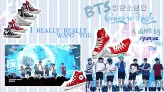 [Hyunjae x JW] BTS (방탄소년단) - Converse High (with Acapella)