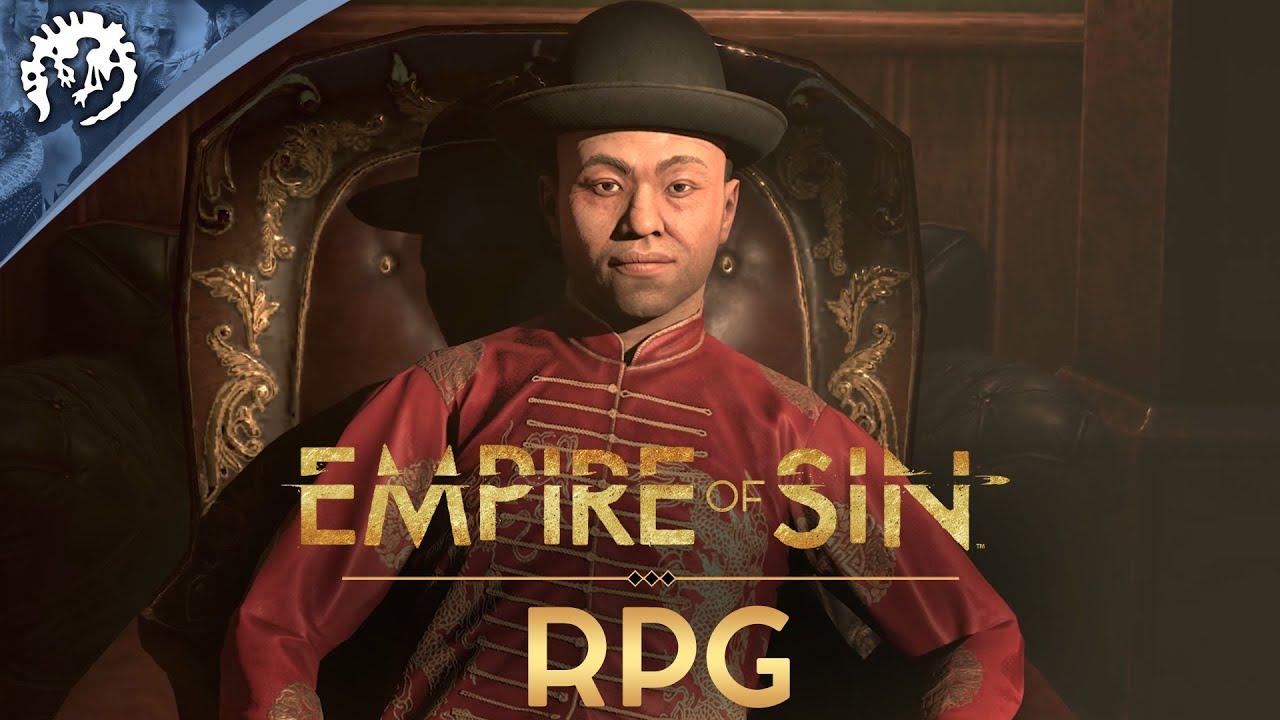 Empire of Sin | Game Pillars | RPG