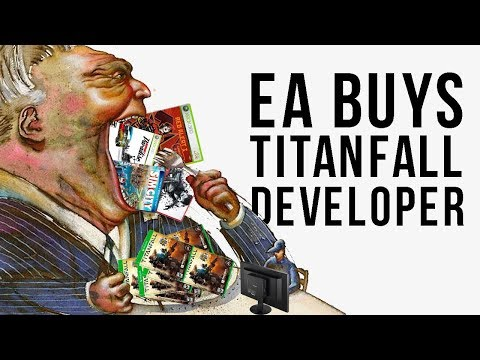 EA BUYS TITANFALL DEV, MS GOES BACK TO MAKING EXCLUSIVES FOR XBOX, & MORE
