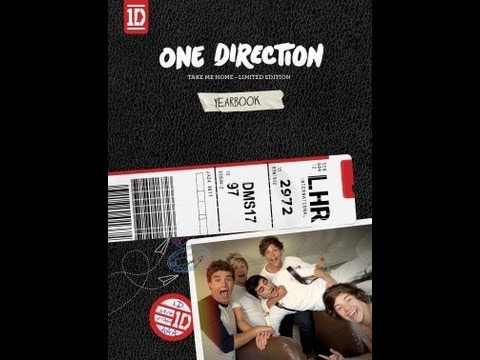 Unboxing: Take Me Home Yearbook Edition - One Direction