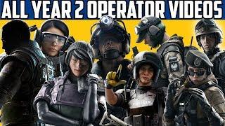 All Year 2 DLC Operator Videos: Rainbow Six Siege & Year 1