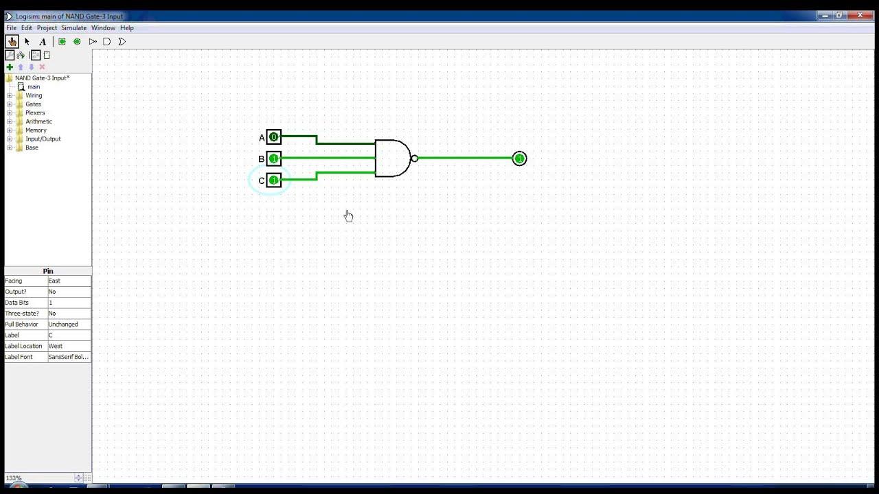 3 Input Nand Gate Youtube Xor Logic Diagram