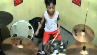 Video Jatuh Bangun  Dangdut  Versi Rock Progresive '' Tiket Band '' Drum Cover Ariel 6year download MP3, 3GP, MP4, WEBM, AVI, FLV Agustus 2017