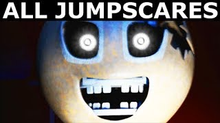 JOLLY 3: Chapter 1 - All Animatronic Jumpscare Animations (FNAF Horror Game 2017)