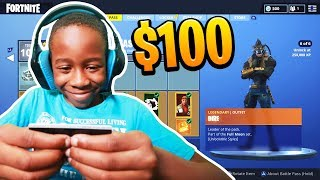 Kid spends $100 On Season 6 'MAX' Battle Pass With Brother's Credit Card (Fortnite)