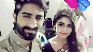 Nandini serial actress and actor  Rahul ravi and Malavika wales romantic photos