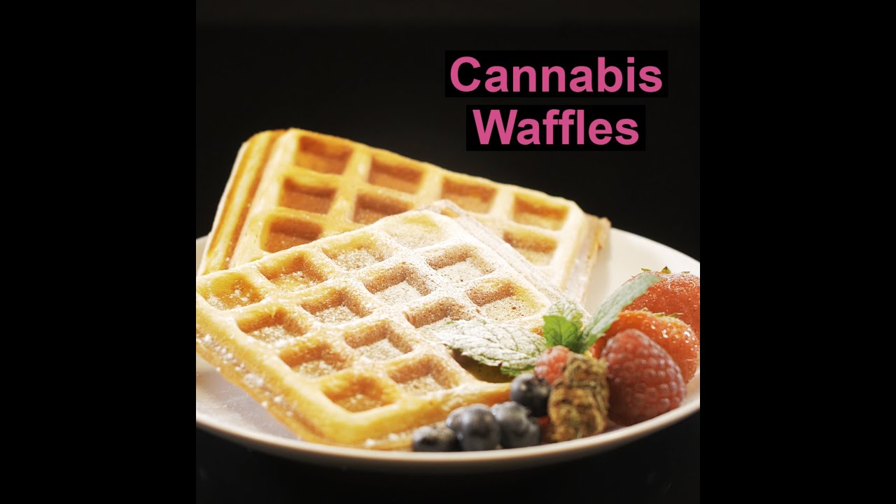 Weed infused Waffles