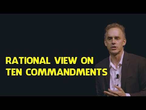 Jordan Peterson: Rational Perspective On Moses And Ten Commandments