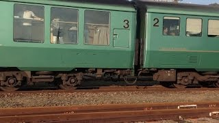 【JR九州】 ゆふいんの森久大本線 豊後森駅離合シーン【2014.10】